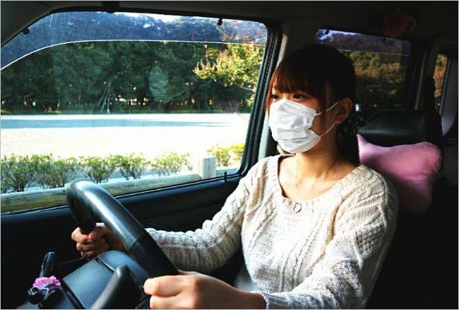 車内の乾燥